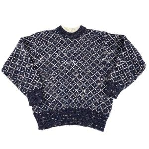 Le Moda Sweaters - Vintage Le Moda Wool Blend Crewneck Sweater